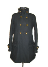 Wool coat by Via, sold by Victoria's Secret